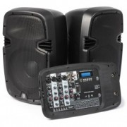 "170,117 à 10 Portable Sound Set ""PSS-300 MP3 (2x75W RMS)"