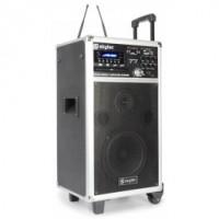 SkyTecST-140 Système amplifié portable DVD/CD/UHF/MP3/SD/USB Record/Play