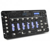 Bluetooth SkyTec STM-3007 SD / USB / MP3 Mixer 6 canaux / 19 / LED ""