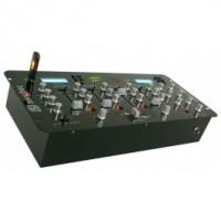 "SkyTec STM-3010 4-Channel 19 ""Mixer avec USB / MP3"