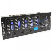 SkyTec STM-3005REC 4-Channel Mixer EQ USB / MP3 Record