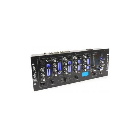 SkyTec STM-3005REC 4-Channel Mixer EQ USB / MP3 Record