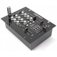 SkyTec STM-2300 2-Channel Mixer USB / MP3