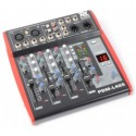 Power Dynamics	PDM-L405 Table de mixage 4 canaux MP3/ECHO