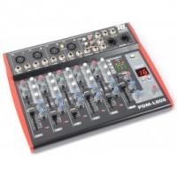 Power DynamicsPDM-L605 Table de mixage 4 canaux MP3/ECHO