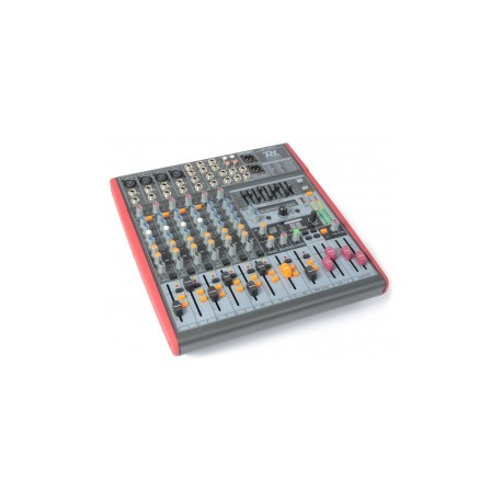 Power DynamicsPDM-S803 Stage Mixer 8-Channel DSP/MP3- USB IN/OUT