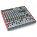 Power Dynamics PDM-S1203 étape Mixer 12 canaux DSP / MP3- USB IN / OUT