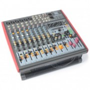 Power Dynamics PDM-S1203A Amplified Mixer 12 canaux DSP / MP3- USB IN / OUT