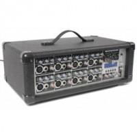 Puissance Dynamics PDM-C808A Propulsé Mixer 8-Channel MP3 / ECHO