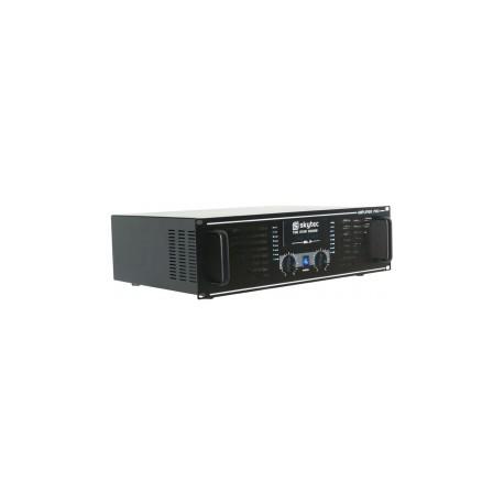 SkyTecAmplificateur professionnel SKY-1500B, 2x 750 Watt Noir