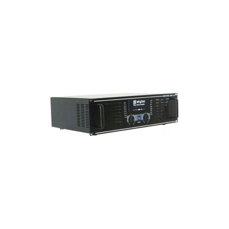 SkyTecSKY-2000B Amplificateur professionnel 2x1000 Watt Noir
