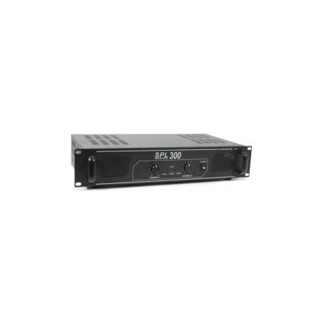 SkyTecSPL 300 Amplificateur 2x 150 W Noir
