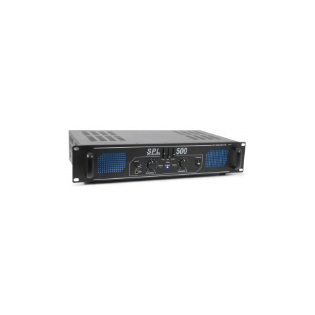 SkyTec	SPL 500 Amplificateur 2 x 250 W EQ