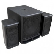 "Power Dynamics	PD Combo 1800 18"" Subwoofer + 2x 10"" Satelliet speakers"