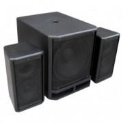 "Power DynamicsPD Combo 1800 18"" Subwoofer + 2x 10"" Satelliet speakers"