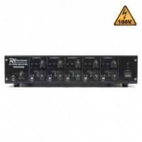 Power DynamicsPDV550M Amplificateur matriciel 5 zones 5x50 W/100 V