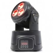 BeamZ ProfessionalMHL45 Lyre 6/11 canaux, LEDs 3 x 15 W COB, DMX