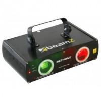 BeamZLaser Methone 3D DMX rouge vert