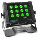 WH128 Projecteur 12x LEDs 8 W Quad IP65, + cordon 5 m