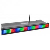 Wi-Bar Barre 192 LEDs RGB, batterie 2,4 GHz DMX