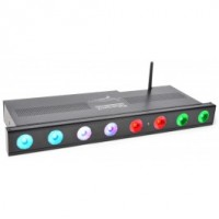 BeamZ Professional	Wi-Bar Barre 8x LEDs 3 W, batterie 2,4 GHz DMX