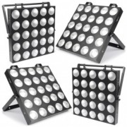 BeamZ Professional	MadMax Set de 4 matrices 25 LEDs COB + Flightcase