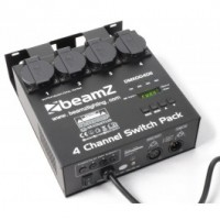 BeamZSwitch Pack II DMX512 4 canaux
