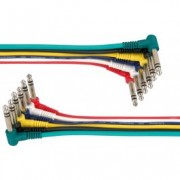 PD ConnexJeu de 6 cordons jack, OFC, stéréo, 0,5 m