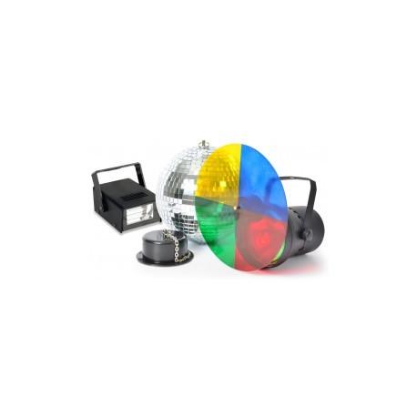 BeamZDisco Party Set avec stroboscope