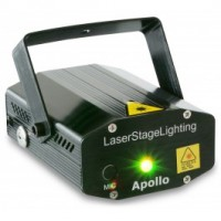 BeamZ	Apollo Laser rouge vert multipoints