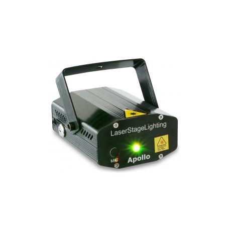 BeamZApollo Laser rouge vert multipoints