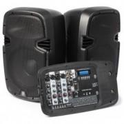"""170,117 à 10 Portable Sound Set """"PSS-300 MP3 (2x75W RMS)"""