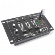 SkyTec STM-3020B 6-Channel Mixer USB / MP3 - Noir